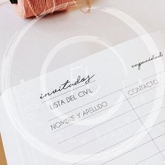 Imagen de WEDDING JOURNAL • Yellow