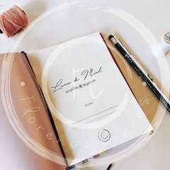 WEDDING JOURNAL • Pink - comprar online