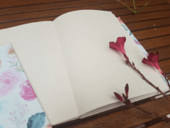 Notebook • Watercolor Roses - Florence Livres