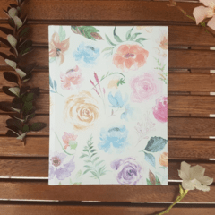 Notebook • Watercolor Roses