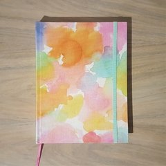 Notebook • Rainbow Stain