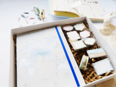 GIFT BOX CHIC TRAVELLER - Florence Livres