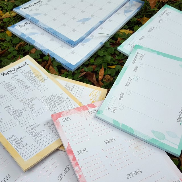 PROMO • Set Four Planner • Meal+Market+Week+Month