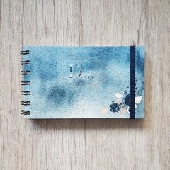 Agenda 2020 Pocket - Watercolor Blue Sea