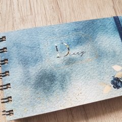 Agenda 2020 Pocket - Watercolor Blue Sea - comprar online