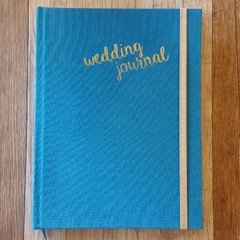 WEDDING JOURNAL • Blue