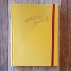 WEDDING JOURNAL • Yellow