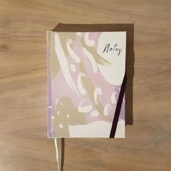 Mini Notebook • Abstract Brush in Lila - comprar online