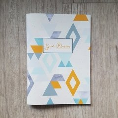 Agenda 2020 Pocket - Watercolor Blue Sea - tienda online