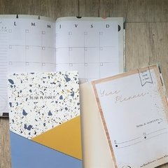 "Year Planner ""Watercolor"" - Florence Livres"