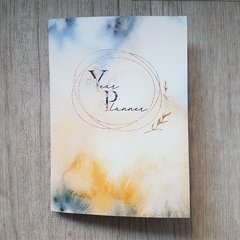 "Year Planner ""Watercolor"""
