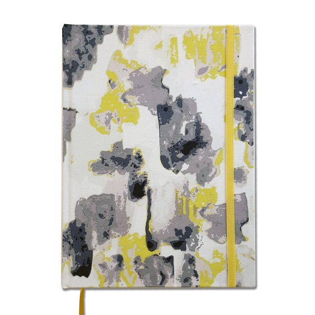 Notebook • Yellow Watercolor Stain