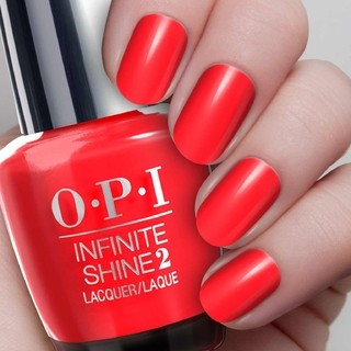 OPI Infinite Shine - Unrepentantly Red - comprar online