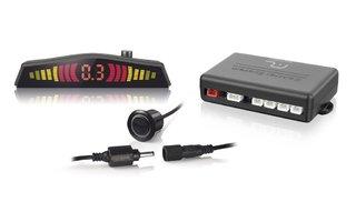Sensor de Estacionamento 4 pontos com Conector e com LED - Cor Preto