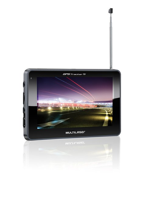 GPS Tracker Tv digital + Camera De Ré + FM + AV IN - loja online