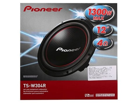 Subwoofer Pioneer TS-W304R 12