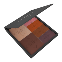 OBSSESION FACE PALETTE (XL) - PM60 Terra, H05 Moon Glow, BM43 Pretty Pink, BM64 Fresh Peach, BS85 Bronze, BS88 Jungle