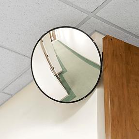 Espejo convexo 18 uso interiores for Espejo esferico convexo