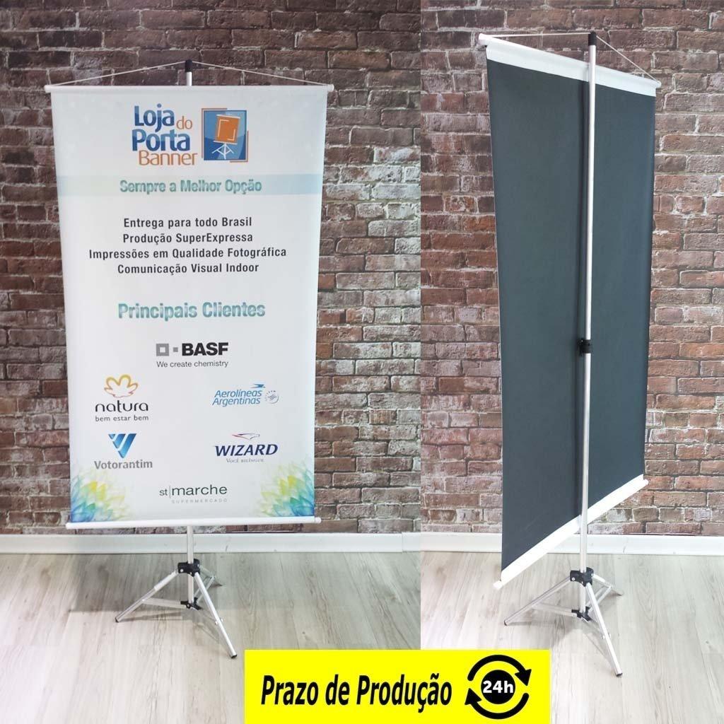 e3bb3854499 Kit Divulgação - Porta Banner + Banner Impresso