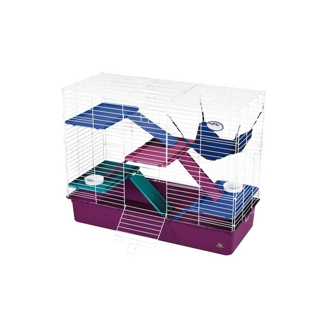 Superpet jaula my first home deluxe varios pisos - Colchones royal cloud ...