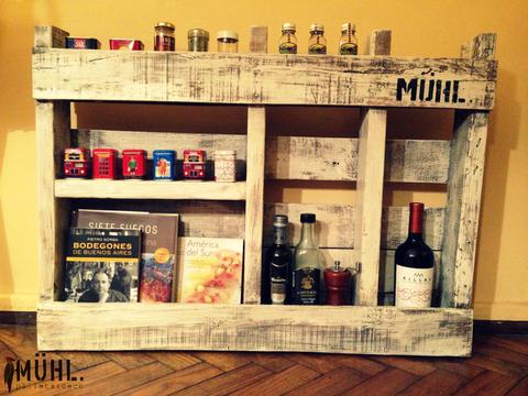 Estante simple comprar en muhl - Estantes para vinos ...