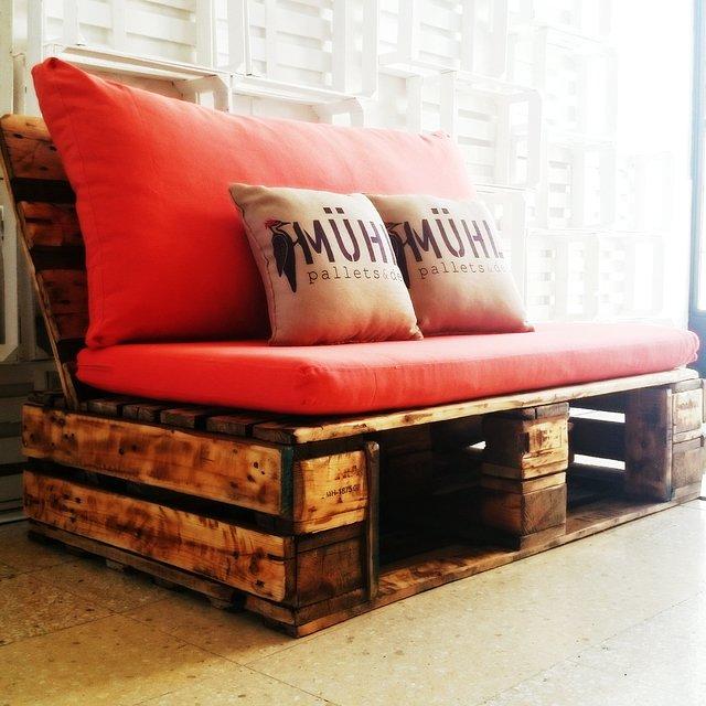 Tienda online de muhl for Sofa cama de dos cuerpos