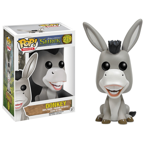 Donkey Funko Pop (Burro Falante do Shrek)