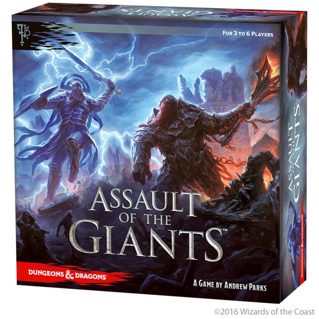 D&D Assault of the Giants (Importado)
