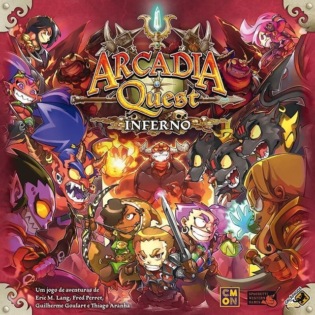 Arcadia Quest Inferno na internet