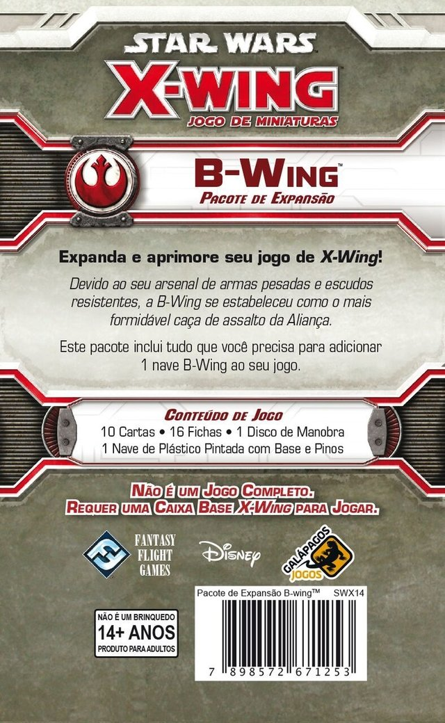 B-Wing - Expansao, Star Wars X-Wing - comprar online