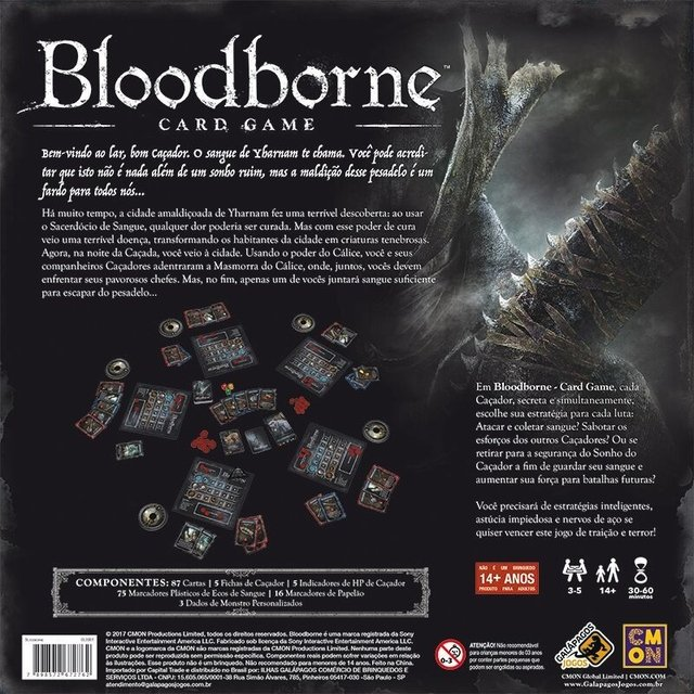 Bloodborne - Card Game - comprar online
