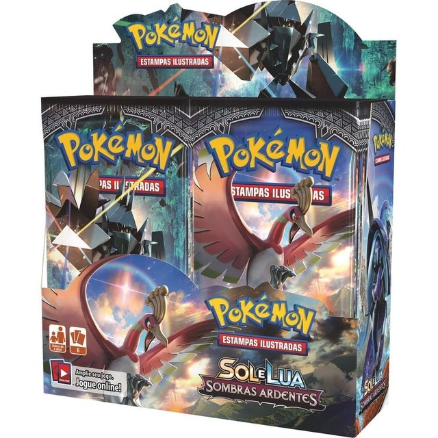Pokemon - Sol e Lua 3 - Sombras Ardentes - Booster Box