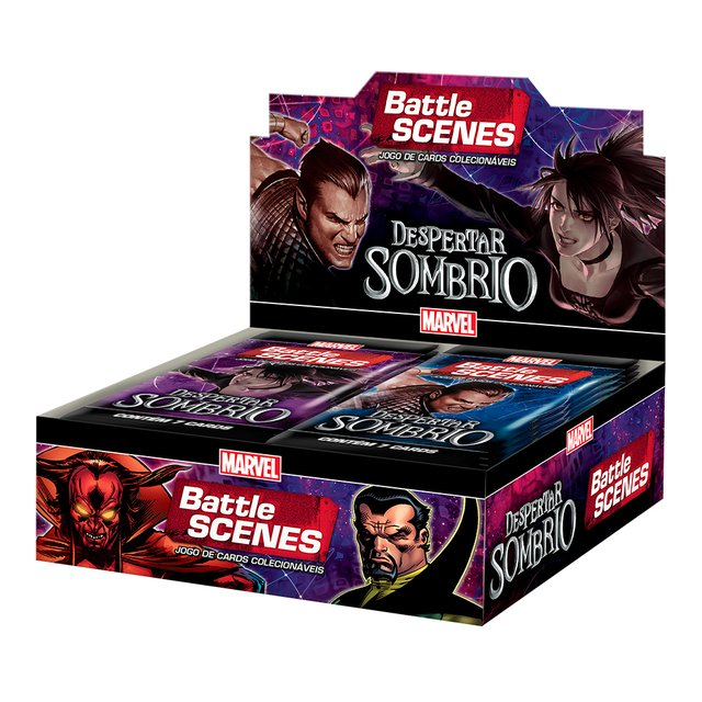 Marvel Battle Scenes: Despertar Sombrio Booster Box