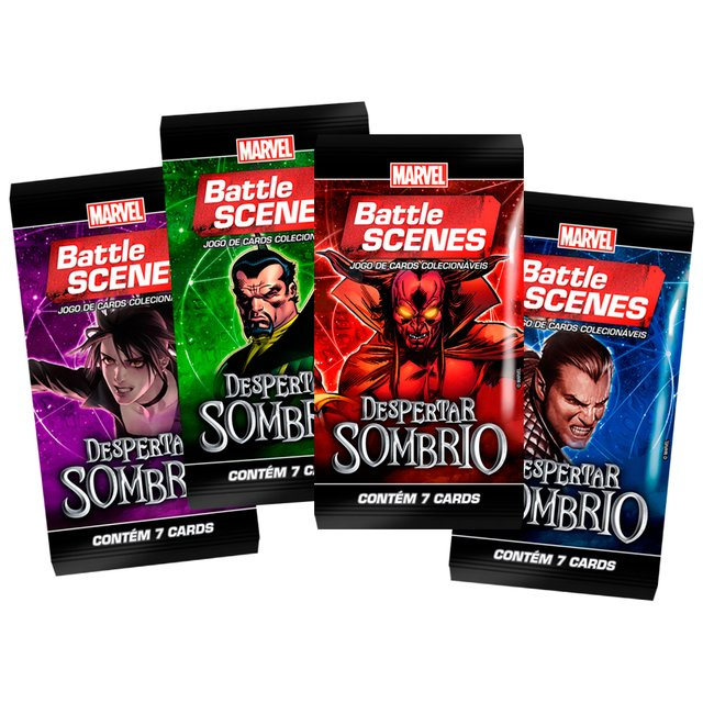 Marvel Battle Scenes: Despertar Sombrio Booster Box - comprar online