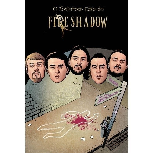 O Torturoso Caso do Fire Shadow - comprar online