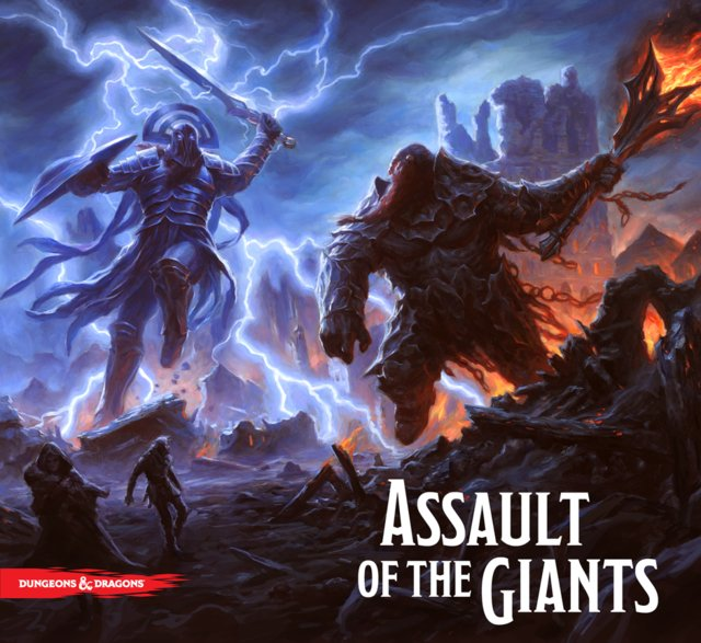 D&D Assault of the Giants (Importado) - comprar online