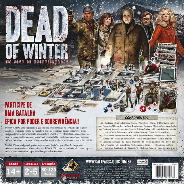Dead of Winter na internet