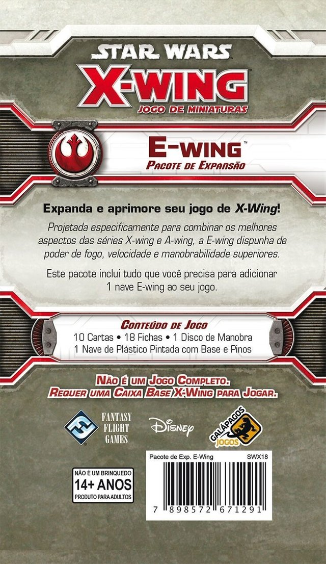 E-Wing  - Expansao, Star Wars X-Wing - comprar online
