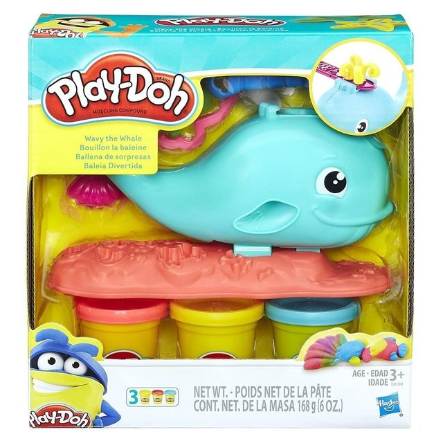 PLAY DOH BALEIA DIVERTIDA E0100
