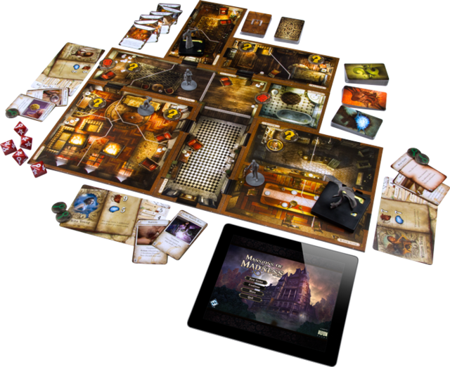 Mansions of Madness na internet