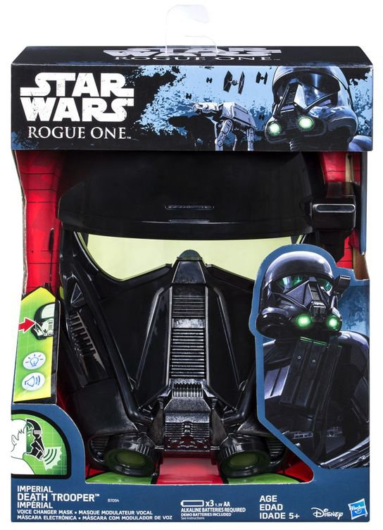 Star Wars Rogue One: Máscara Eletrônica Death Trooper - comprar online