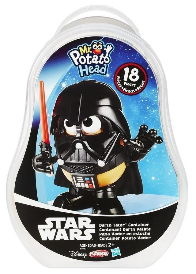 Star Wars: Potato Head Darth Vader (Cabeça de Batata)