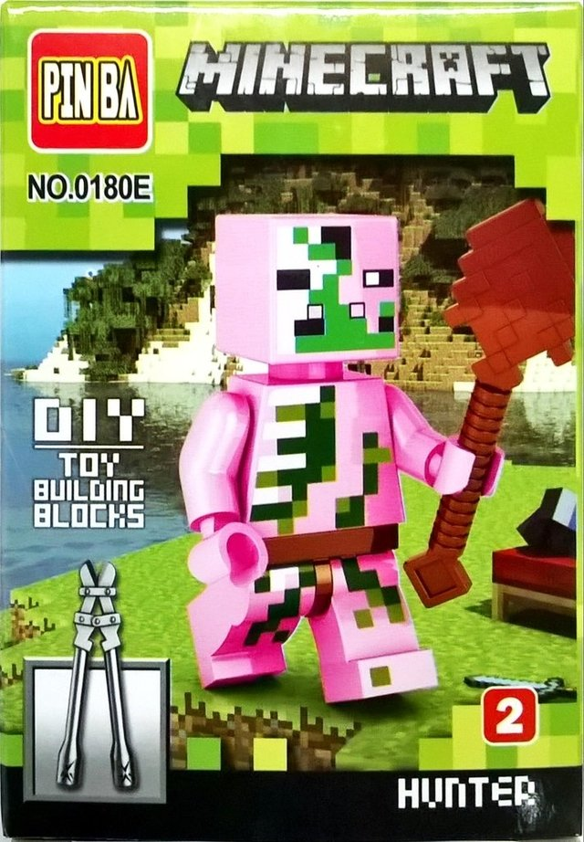 Blocos de Montar Minecraft Hunter - comprar online
