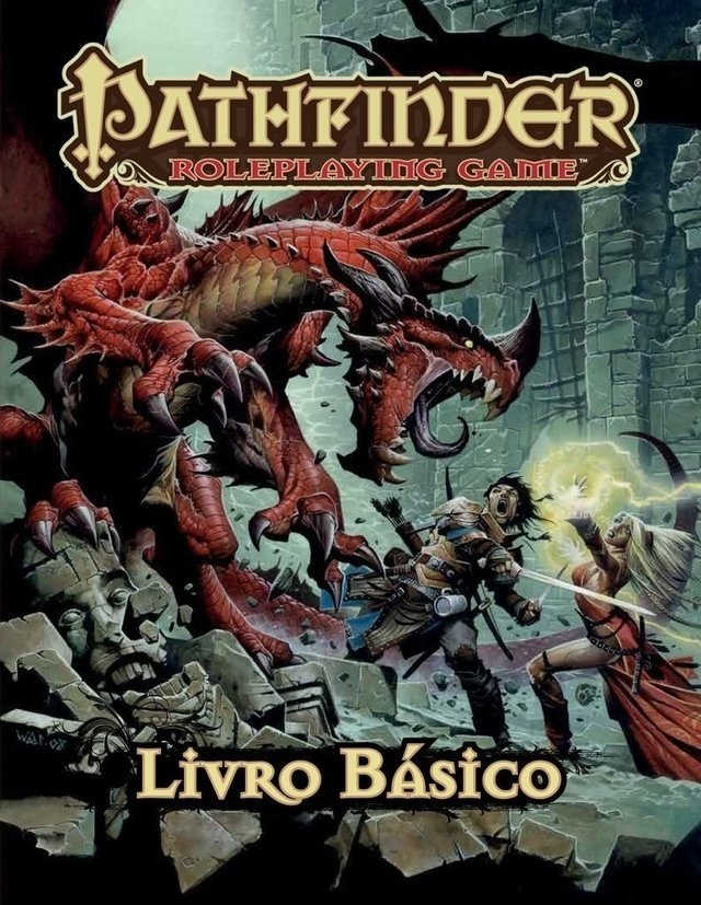 PATHFINDER ROLEPLAYING GAME - LIVRO BÁSICO