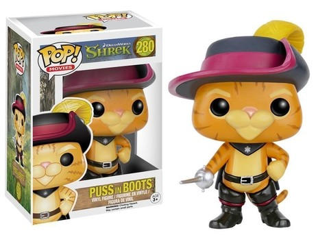 Puss in Boots Funko Pop (Gato de Botas do Shrek) - comprar online