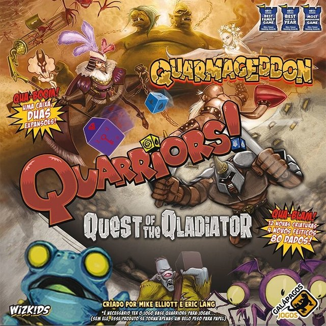 Quarmageddon/Quest of the Qladiator - Expansao, Quarriors
