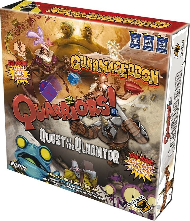 Quarmageddon/Quest of the Qladiator - Expansao, Quarriors na internet