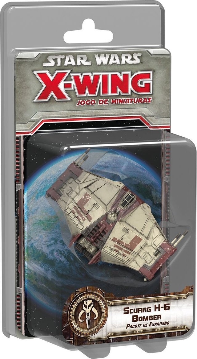Scurrg H-6 Bomber - Expansao, Star Wars X-Wing