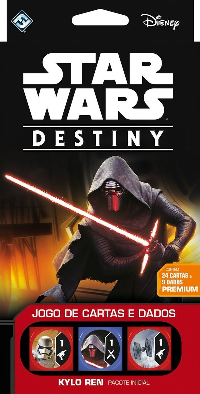 Star Wars Destiny: Pacote Inicial Kylo Ren na internet