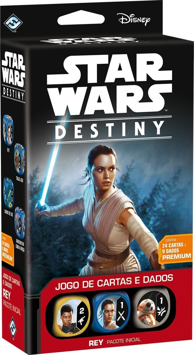 Star Wars Destiny: Pacote Inicial Rey